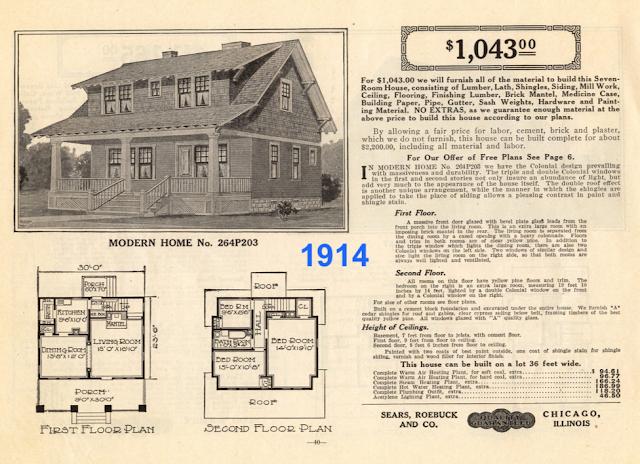 Sears No 264P203, Sears No 203, 1914