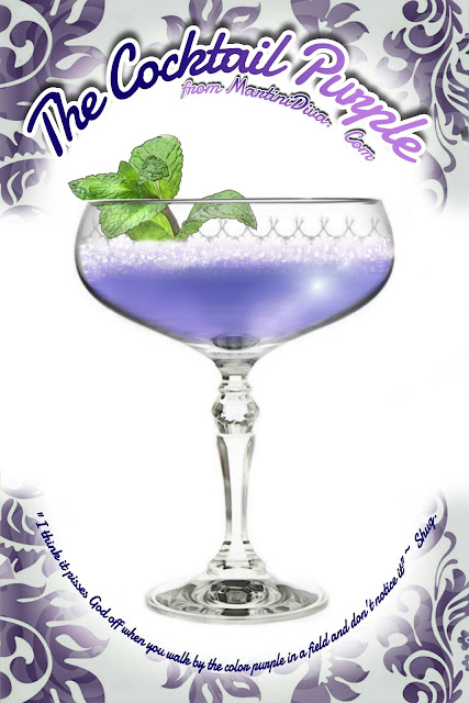 The Cocktail Purple Movie Cocktail Recipe