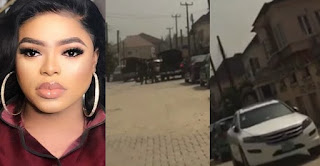 Police reportedly arrest Bobrisky and seize his cars (Video
