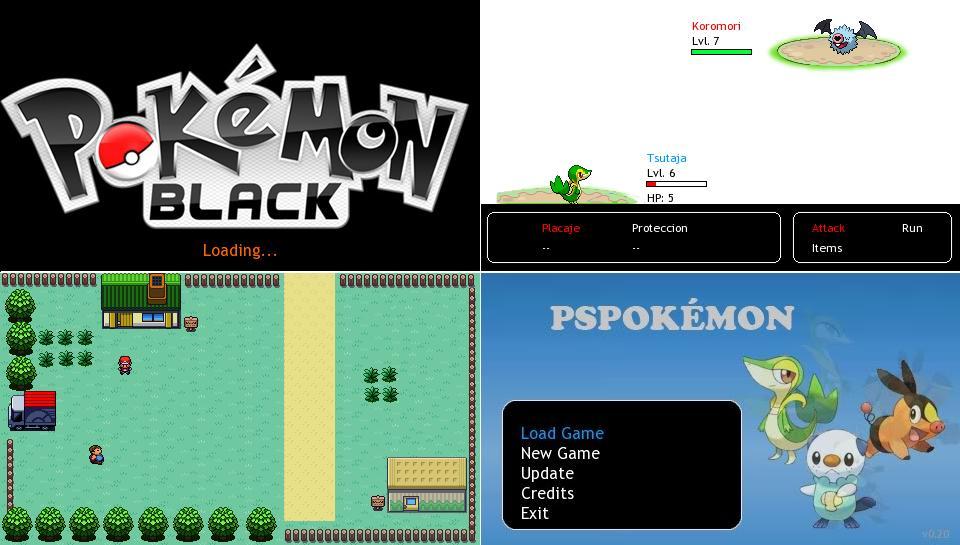 download pokemon black & white psp iso – ppsspp