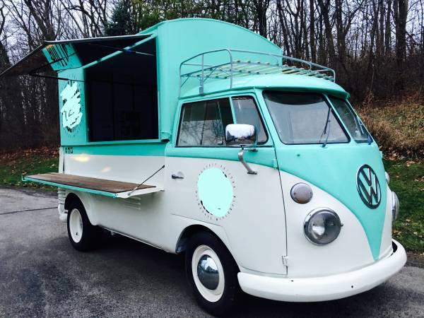 Vw Van Food Truck For Sale