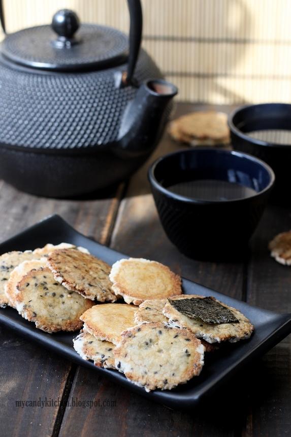 Senbei - Японски оризови крекери