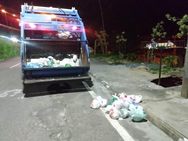 Serviço de coleta de resíduos é retomado em Registro-SP