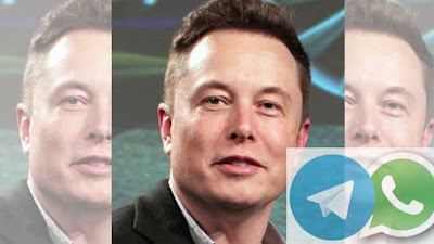 WhatsApp Vs Telegram, Elon Musk Angkat Suara