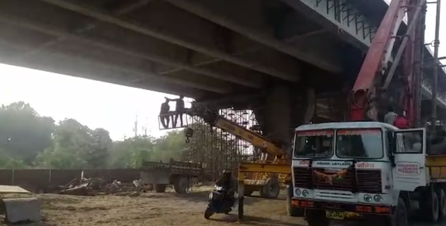 Negligence in flyover construction on Lucknow's Terdhipulia