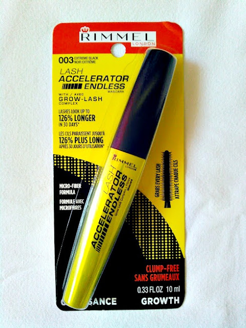 rimmel lash excelerator endless mascara