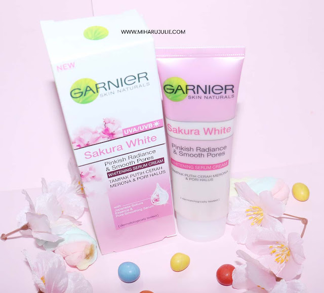 Garnier SAkura White review