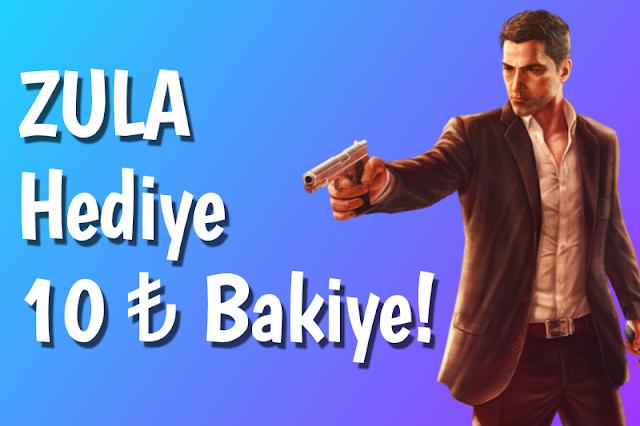 ZULA 10 TL Hediye Bakiye | Paycell Kampanyaları!