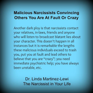 Gaslighting and mindgames by a narcissist