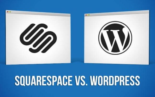 Squarespace vs. Wordpress