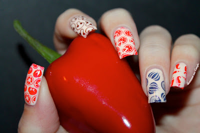 A Pizza // Italia Nail Art