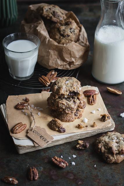 Recette des cookies au chocolat et noix de pécan
