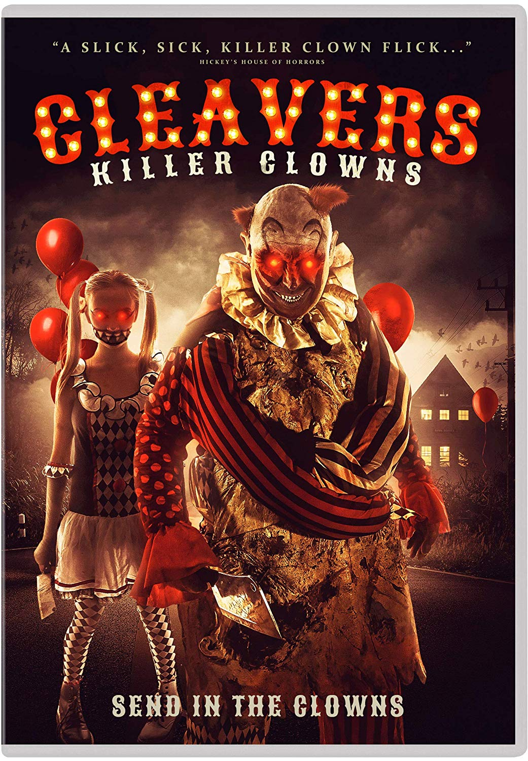 Cleavers: Killer Clowns (2019) Hindi Dubbed 150MB Web-DL 480p