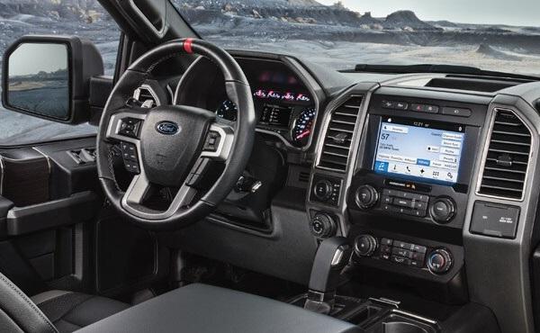 Ford F-150 Raptor Interior