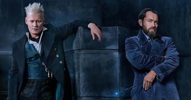 Джони Деп като Гелърт Гриндълуолд във Фантастични животни: Престъпленията на Гринделвалд