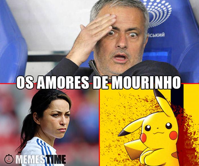 Memes José Mourinho, Eva Carneiro, Pokémon Go/Picachu – Os Amores de Mourinho
