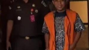Korupsi Dana Desa, Kejaksaan Negeri Lotim Tahan Mantan Kades Banjarsari