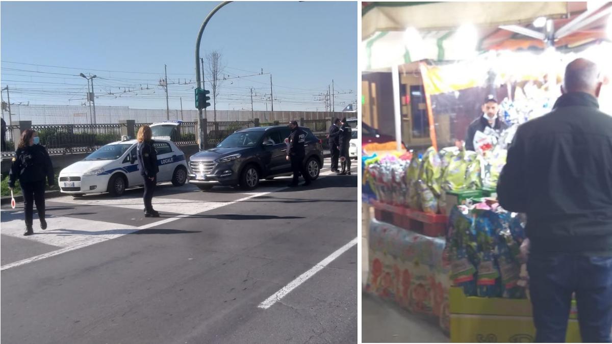 Polizia Municipale controlli anti Covid VI Aprile