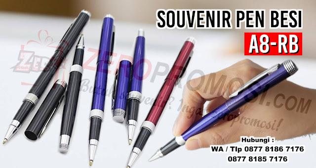 PEN METAL A8-RB, Pulpen Besi Grafir, souvenir Pen besi ukir, Pulpen besi exclusive, pulpen besi A8-RB dengan harga terjangkau