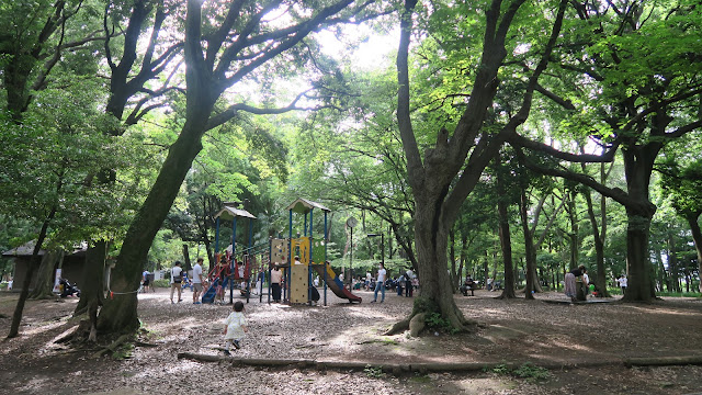 Rinshinomori park kids playground