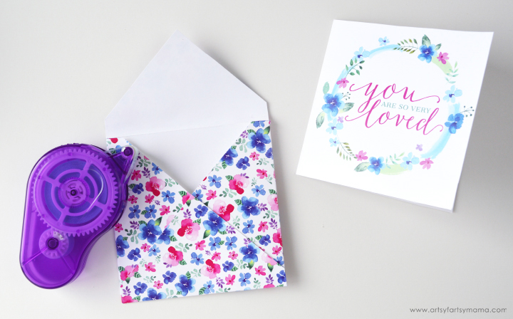 """Free Printable """"You Are Loved"""" Card Set"""