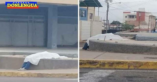 Murió sobre su bicicleta en Maracaibo | Dejaron el cadáver en la acera y le robaron todo