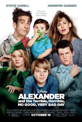 Alexander and the Terrible, Horrible, No Good, Very Bad Day (2014) Sinopsis