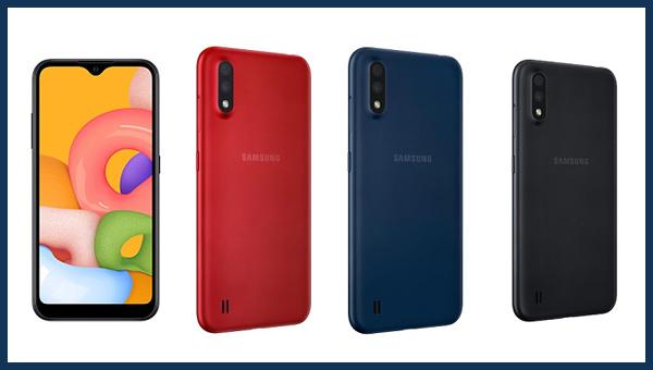 تم الكشف عن هاتف Samsung Galaxy A01 | شاشة صغيرة و ذاكرة كبيرة