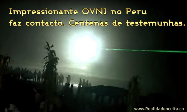 OVNI no Peru- Vídeo impressionante