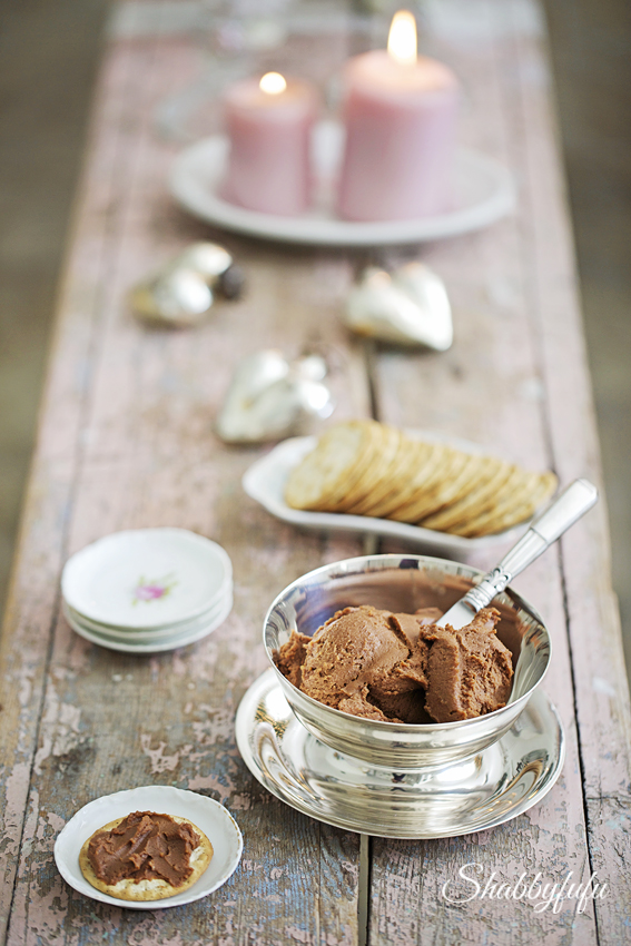 chocolate cheese spread holiday entertaining