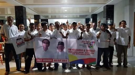 Keluarga Besar TOP 2000 Selayar, Siap Menangkan Jokowi - Ma'ruf Amin