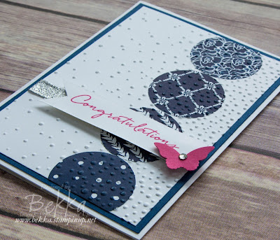 Congratulations Cards featuring the Floral Boutique Suite from Stampin' Up! UK.  Buy Stampin' Up! here in the UK