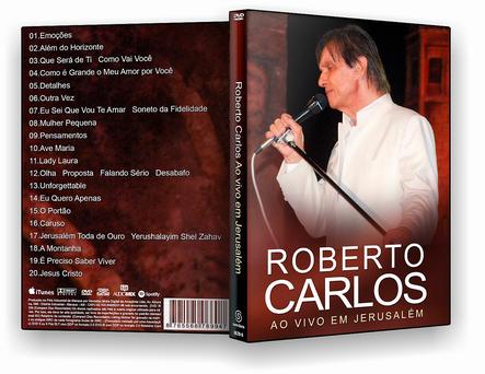 DVD Roberto carlos Ao Vivo Em Jerusalém - ISO