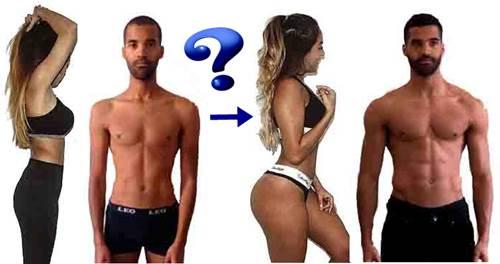 Formas de aumentar de peso para hombres y mujeres
