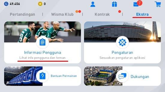 Cara Tambah Teman di PES 2020 Android
