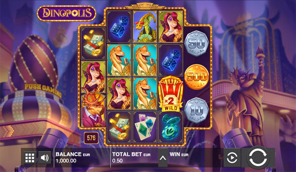Main Gratis Slot Indonesia - Dinopolis Push Gaming