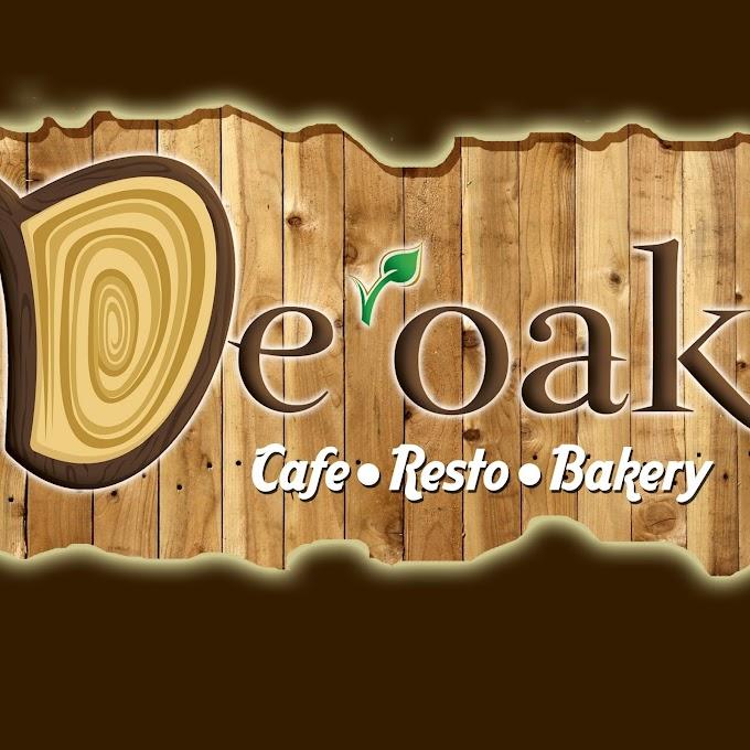 De'Oak Cafe dan Bakery Yang Menyediakan Menu Untuk Para Vegetarian