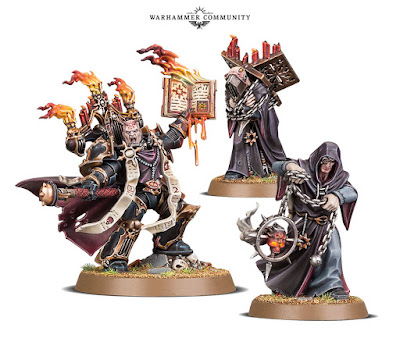 Dark Apostle and retinue