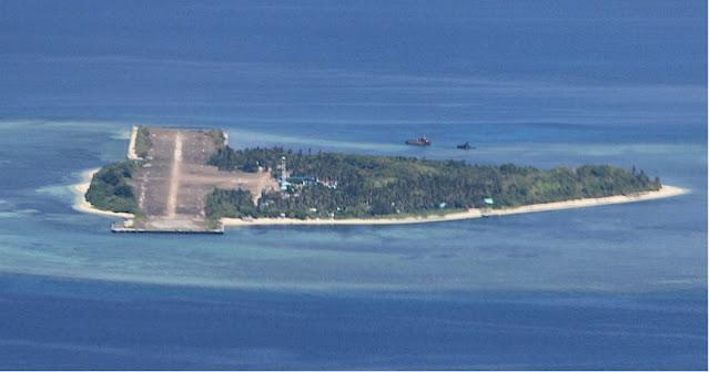 Chinese vessels namataan muli malapit sa Pag asa island, ayon Alejano