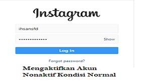 Cara Mengaktifkan Akun Instagram