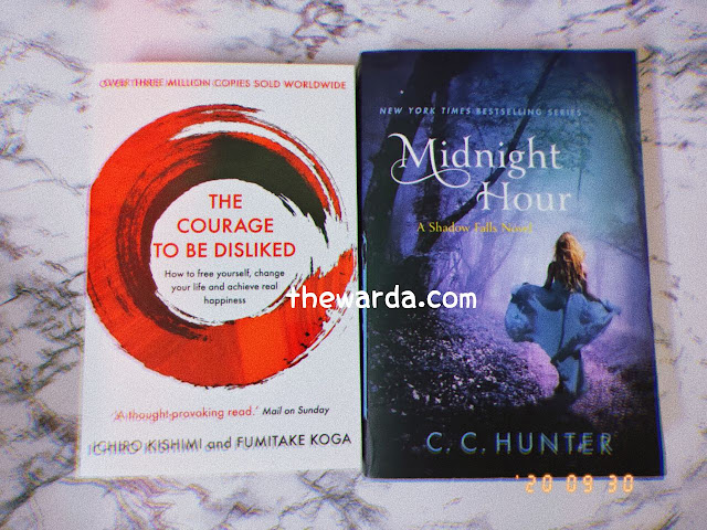 books, buku, the courage to be dislikes, midnight hour, cc hunter