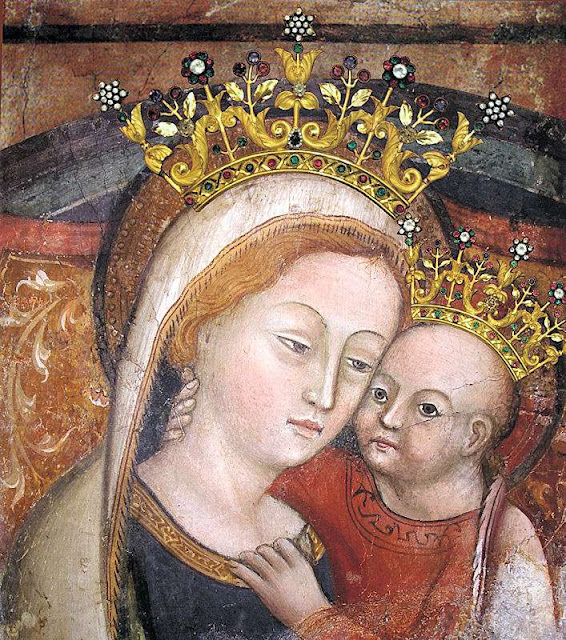 Nossa Senhora do Bom Conselho, Genazzano, Itália.