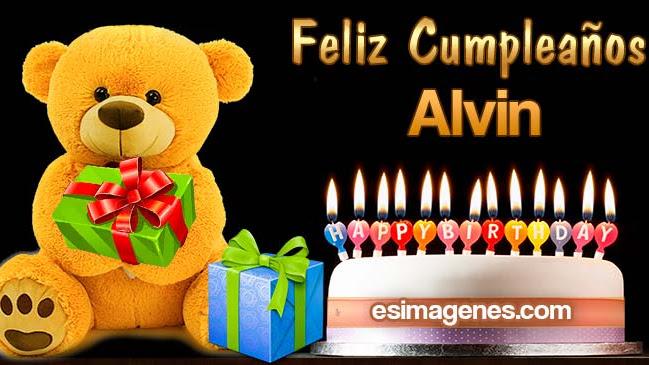 Feliz Cumpleaños Alvin