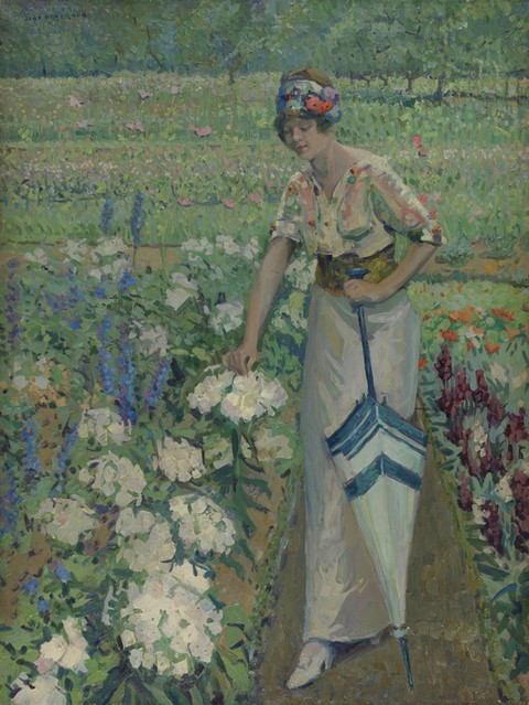 Spring Bouquet, Jane Peterson ca. 1912.