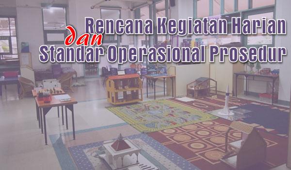 Pedoman Penyusunan RKH dan SOP PAUD RA TK Kurikulum 2013