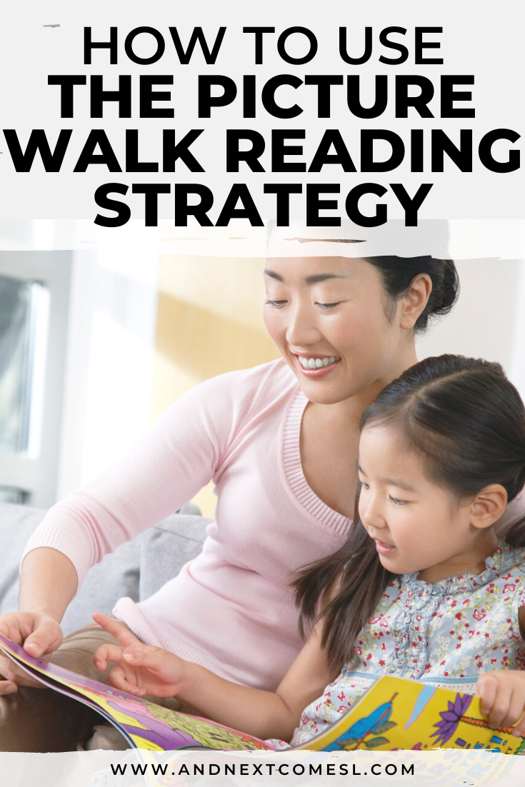What is the picture walk reading strategy? Find out how to do a picture walk to improve comprehension