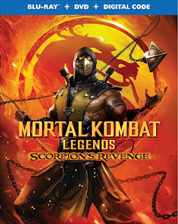 Mortal Kombat Legends: La Venganza de Escorpión [BD25] *Con Audio Latino