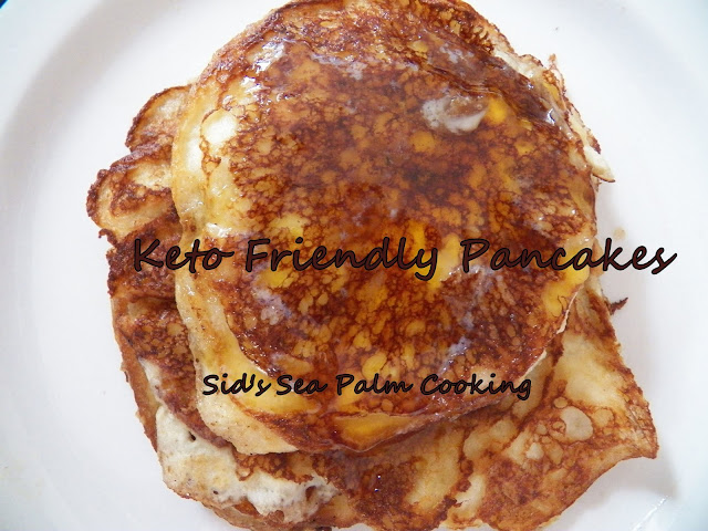 Keto Friendly Pancakes
