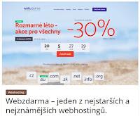 Webzdarma – jeden z nejstarších a nejznámějších webhostingů. - AzaŽurnál
