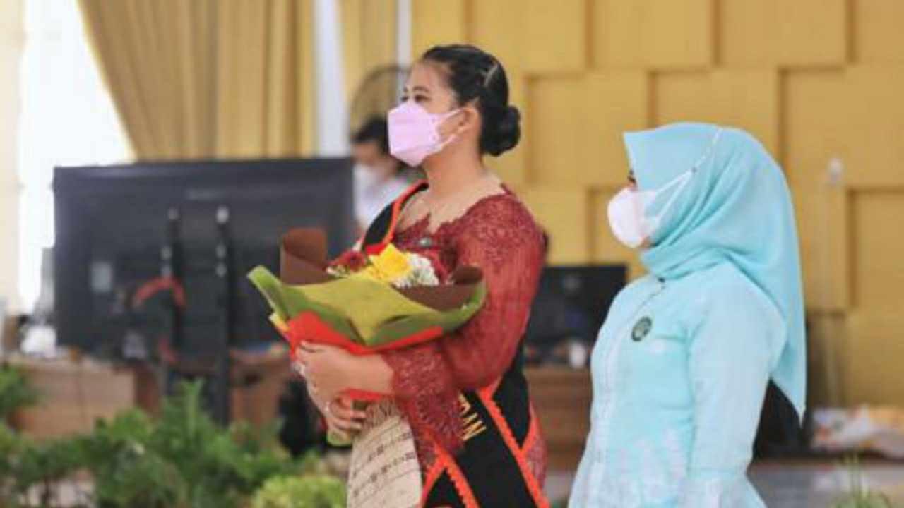 Kahiyang Ayu Bobby Afif Nasution Dikukuhkan sebagai Bunda PAUD Kota Medan